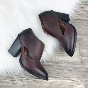 Jeffrey Campbell Leather Booties By Free People